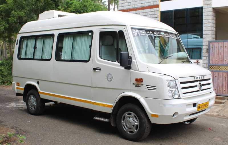 Tempo Traveller Van for Rental